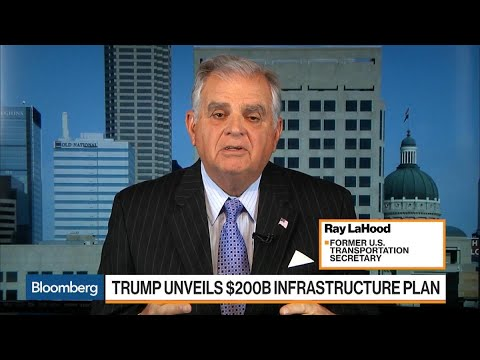 Trump $200B Infrastructure Plan \'Very Insufficient,\' LaHood Says
