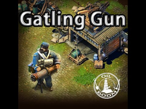 DomiNations - GATLING GUN