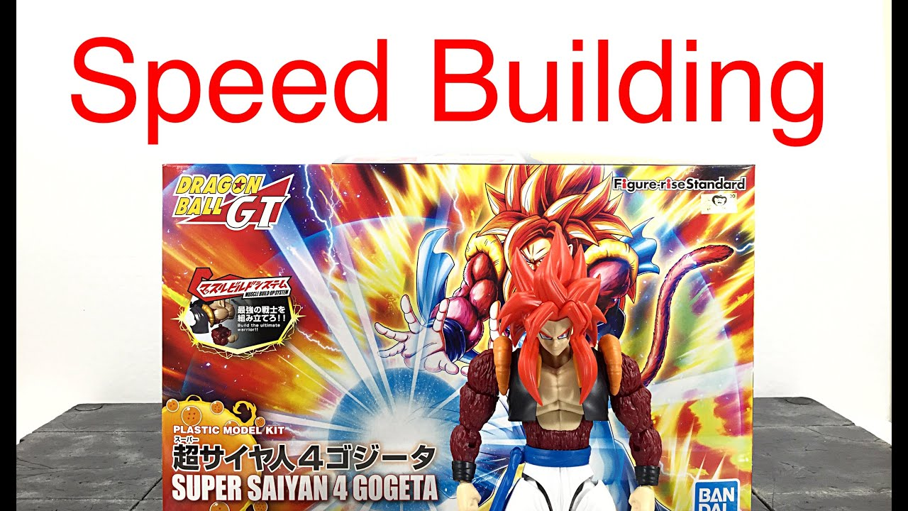 BANDAI Figure rise Standard Dragon Ball Super Saiyan 4 Gogeta Plastic model kit
