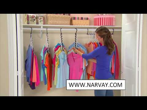 The Clothes Closet Hangers Shirts Tidy Hangers Hacks
