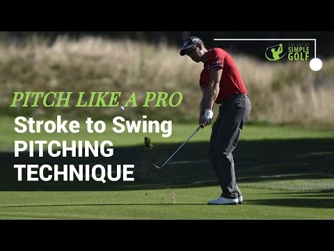 Golf: Pitching Technique and Distance Control For The 3rd Gear Of Golf