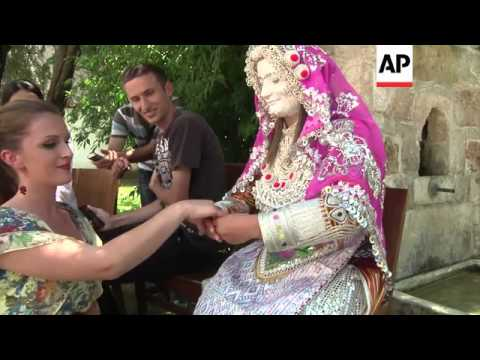 Experts recreate wedding tradition tucked away in remote mountain area