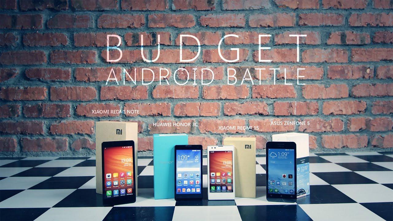Budget Android Battle: Huawei Honor 3C vs Xiaomi Redmi ...