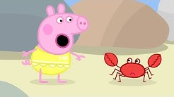Peppa Pig Full Episodes |At The Beach #88