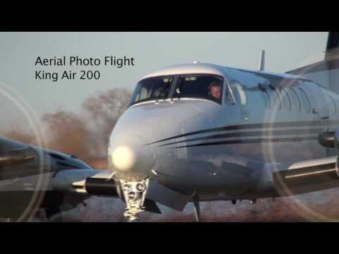 Air to Air Flight RIGHT NEXT to a King Air...