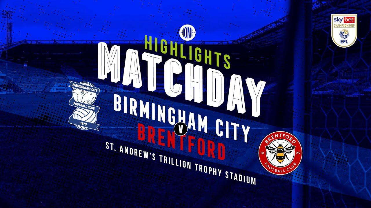 Бирмингем Сити  1-0  Брентфорд видео