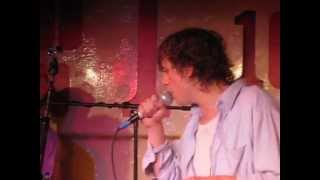 johnny borrell and zazou - skipping rope (throw some water in) - live - 100 club - london - 18/6/13