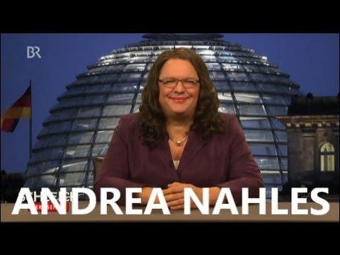 ANDREA NAHLES IM INTERVIEW MIT HELMUT SCHLEICH