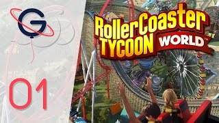 RollerCoaster Tycoon World FR #1 : Découverte Campagne