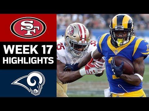 49ers vs. Rams | NFL Week 17 Game Highlights
