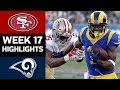49ers vs. Rams | NFL Week 17 Game Highlights