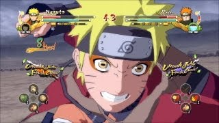 (PS3) Sage Mode Naruto vs Pain Naruto Ultimate Ninja Storm 3