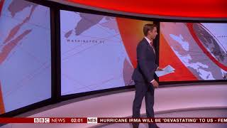 BBC News Tom Donkin weird confusion