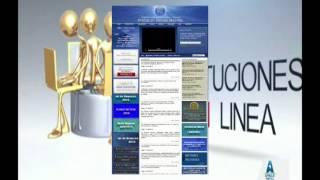 INSTITUCIONES EN LINEA   DU  27   05   2015