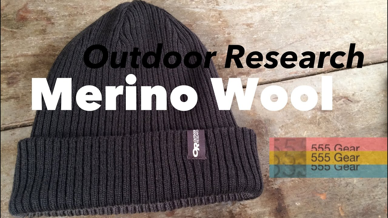 da4f6300d66 Review: Outdoor Research Knotty Beanie Merino Wool Hat - YouTube