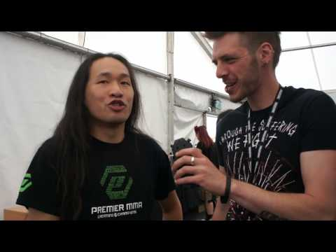 Dragonforce Download Festival Interview 2015
