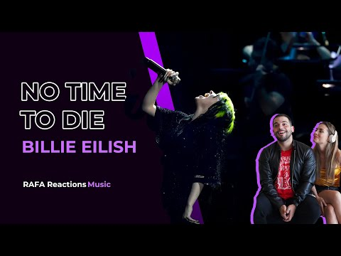 I didn't expected 💚  Billie Eilish - No Time To Die (Live at BRIT Awards 2020)   Rafa Reactions
