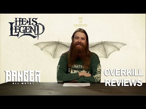 HE IS LEGEND - White Bat Album Review | Overkill Reviews