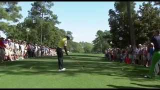 Tiger Woods Swing Driver Dtl Masters 2013