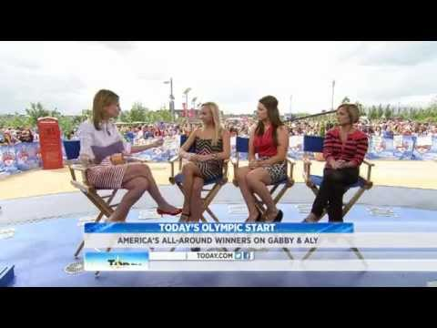 Interview with Nastia Liukin, Carly Patterson, and Mary Lou Retton at the 2012 Summer Olympics