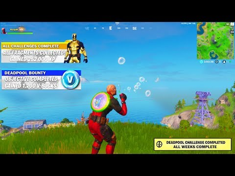I Unlocked The NEW DEADPOOL REWARDS In Fortnite.. And THIS HAPPENED!
