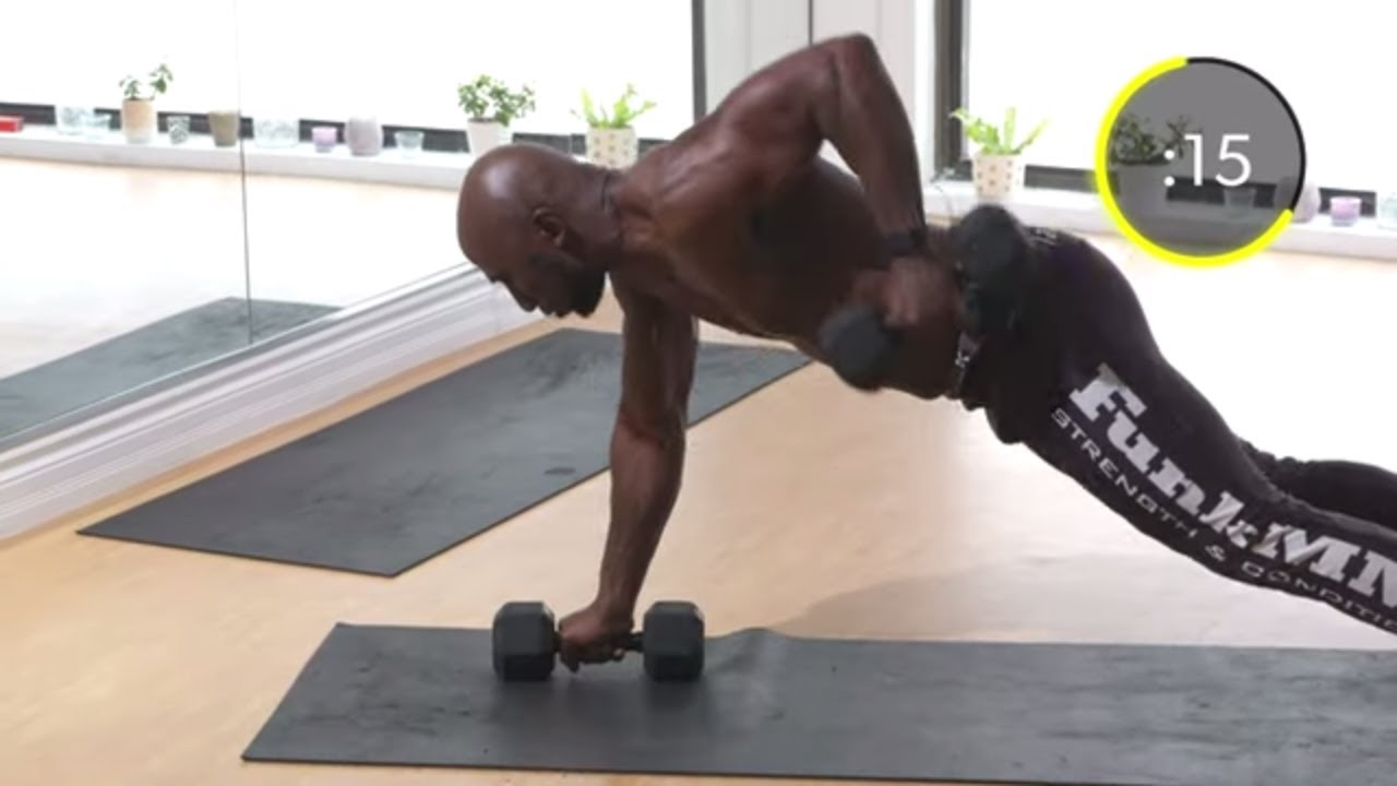 Total Body Home Dumbbell Muscle Building Workout (BURN FAT) - YouTube