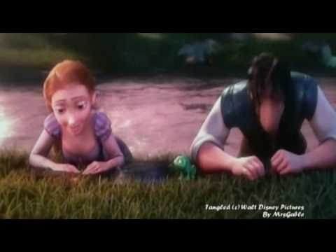 Tangled - Rapunzel and Flynn get trapped inside the tunnel (Healing incantation)