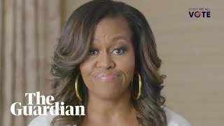 Michelle Obama to hit the road for voter registration drive