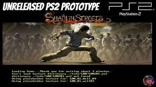 Will It Boot?! Shaolin Streets PS2 Unreleased Game In HD 1080p [Episode 16]