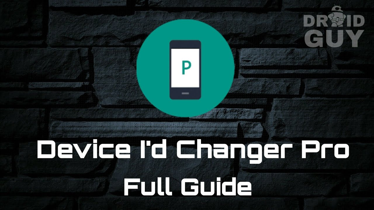 How to use Device I'd Changer Pro - Full Guide - Free Download