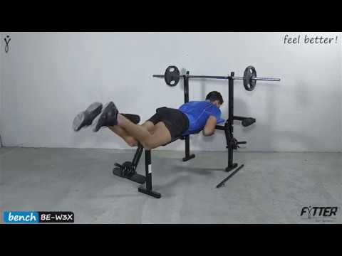 FYTTER - BENCH BE-W3X - FORCE - Feel Better Making Exercise (BEW3X)