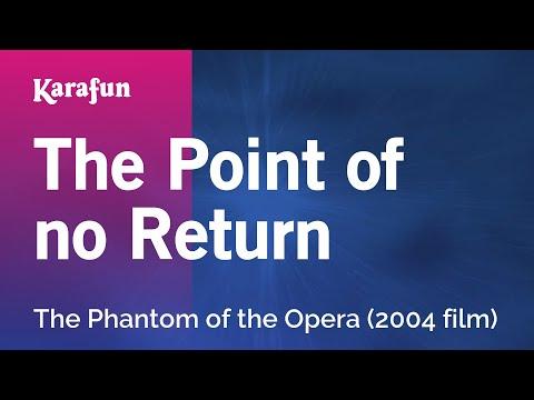 Karaoke The Point Of No Return  The Phantom Of The Opera *