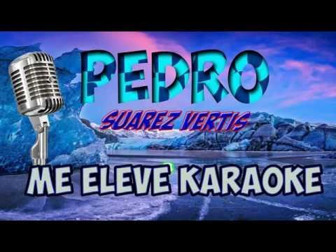 ME ELEVE PEDRO SUAREZ VERTIS KARAOKE MUSICAL