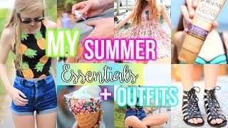 My Summer Essentials+ Outfit Ideas!
