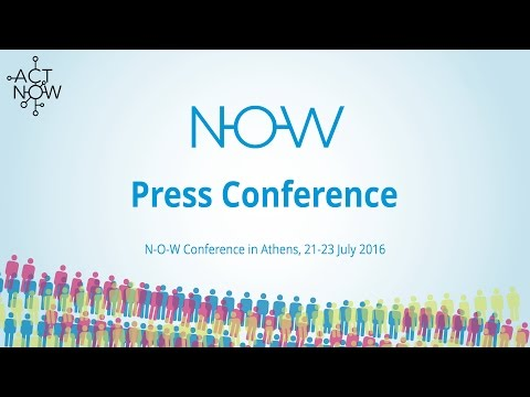 NOW Conference Athens - Press Conference