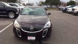 2017 Buick Regal Sedan Sunroof Black Cherry Oshawa ON Stock #170427