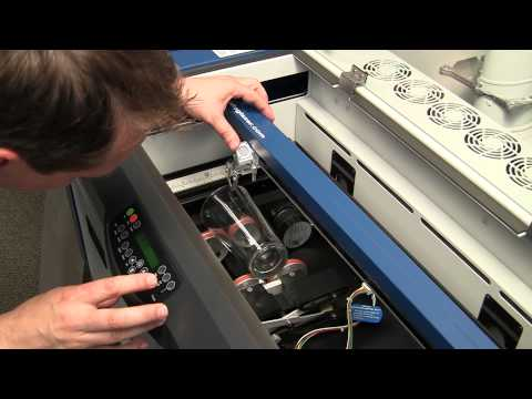 Epilog Rim-Drive Rotary Attachment - How-To Setup and Engrave -  Mini24