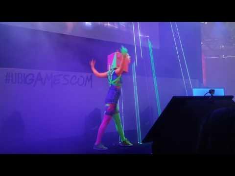 Laser Show Just Dance 2017 at Gamescom - Radical