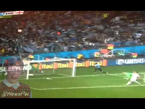 @NewsPei Team England - Team Uruguay - Suárez Winning Goal