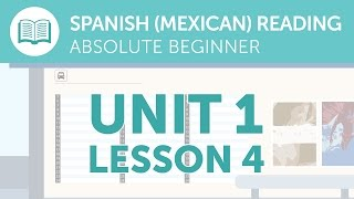 Mexican Spanish Reading for Absolute Beginners - A Mexican Spanish Notice at the Station