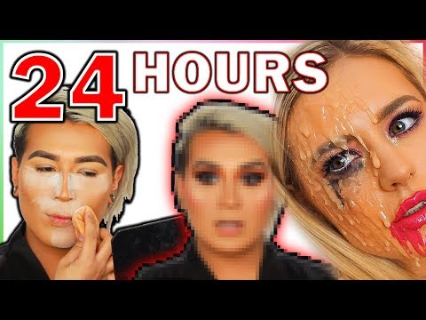 WEARING MAKEUP FOR 24 HOURS My skin HATES me