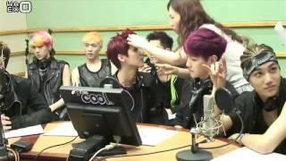 [РУСС.САБ] 130530 EXO - SuKiRa @ Kiss The Radio
