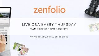 How to create custom Holiday card templates - Zenfolio Live December 7th 2017 thumbnail