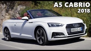2018 Audi A5 Cabriolet - Test Drive, Exterior, Interior