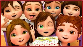 Happy Birthday Song To Cali in Her School Class ~ Banana Cartoons [HD]