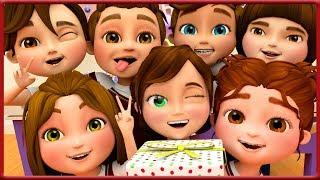 Happy Birthday Song To Cali in Her School Class ~ Banana Cartoons [HD]