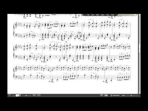 AWOLNATION - Sail | Noteflight [SHEETS]