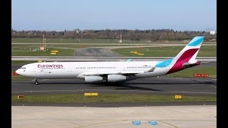 24-3-2019 Airplane Spotting at Dusseldorf Airport (DutchPlaneSpotter)