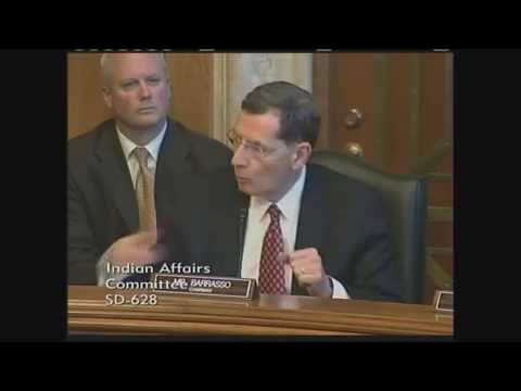Barrasso Outlines Indian Affairs Committee's Priorities for the 114th Congress