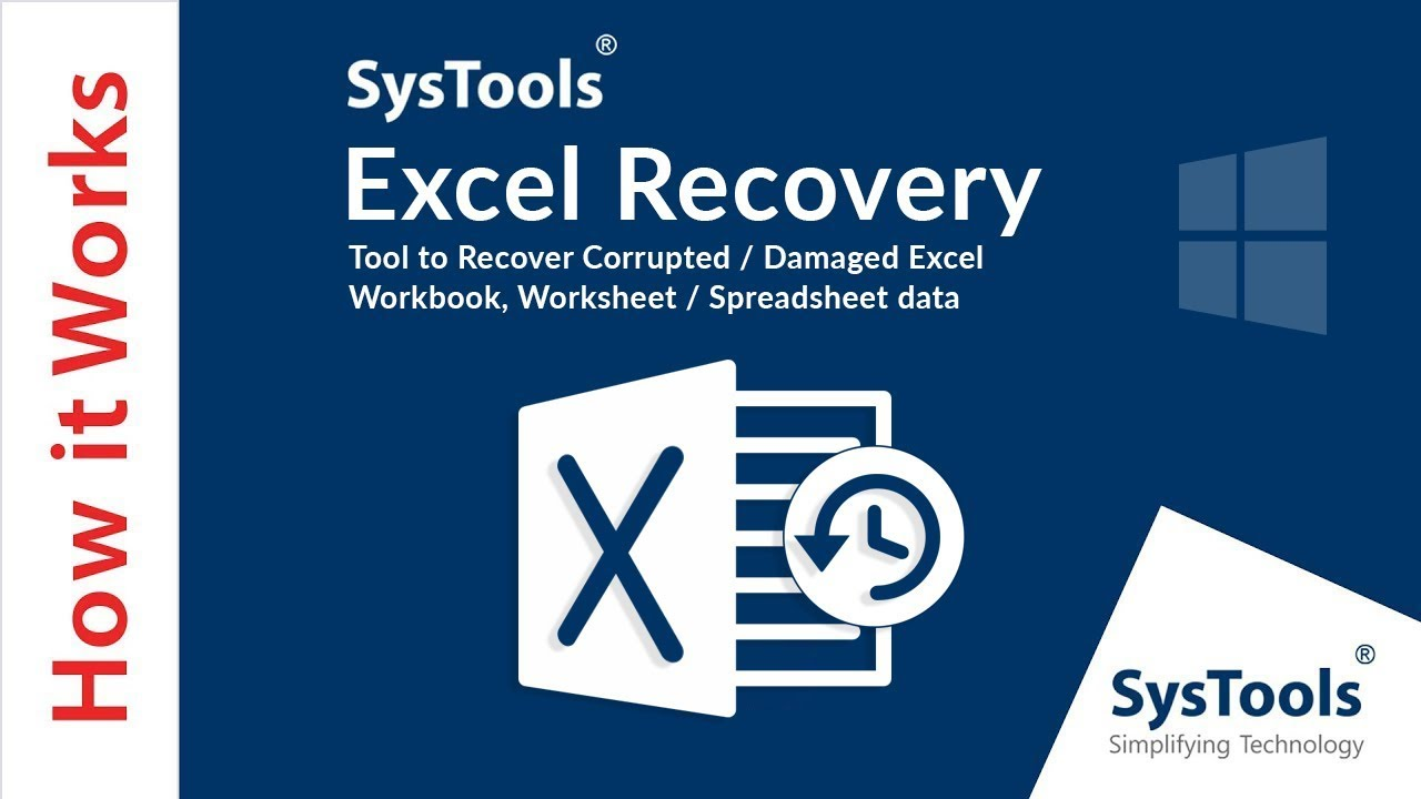 Excel File Recovery Software – Repair & Recover Corrupt